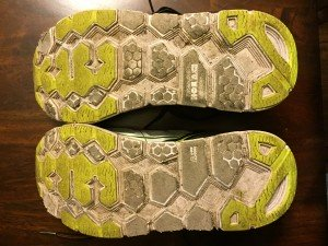 270 miles of wear on the Hoka One One Clifton 2.